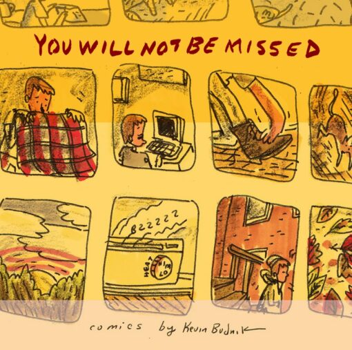 You Will not be Missed Promo Front Cover
